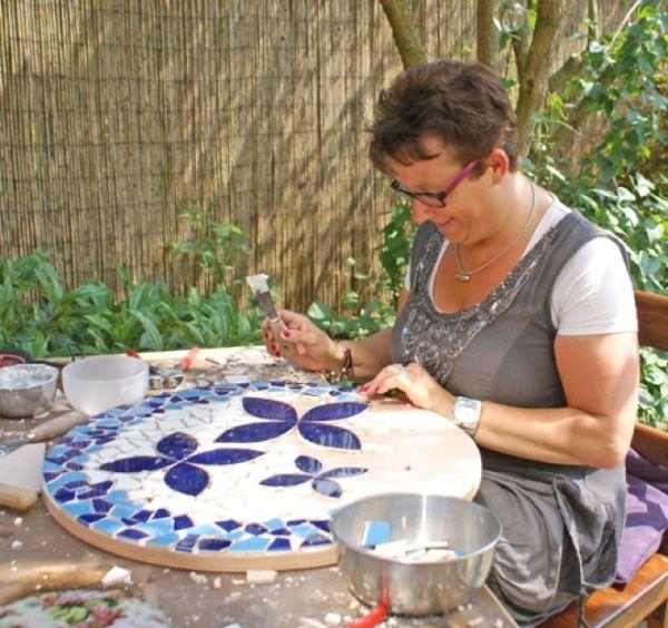 mozaïek workshop Oosterhout vanaf 2 personen