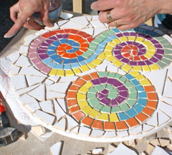 workshop mozaïek Oosterhout (Breda)